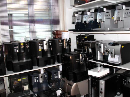 Vermietung von Kaffeemaschinen im Cafecenter Biel
